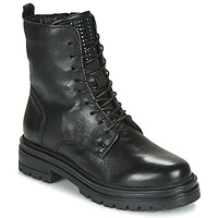 Shoes Women Mid boots Mjus DOBLE LACE Black