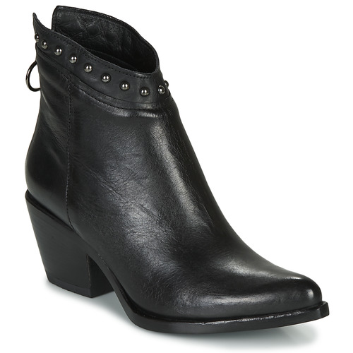 Shoes Women Ankle boots Mjus TEP Black