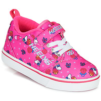 Shoes Girl Wheeled shoes Heelys PRO 20 X2 Pink