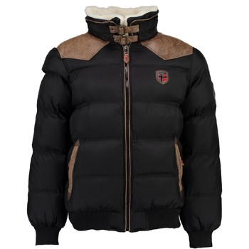 material Boy Duffel coats Geographical Norway ABRAMOVITCH BOY Black