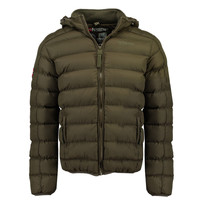 material Boy Duffel coats Geographical Norway BOMBE BOY Kaki