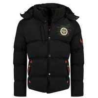 material Boy Duffel coats Geographical Norway VERVEINE BOY Black