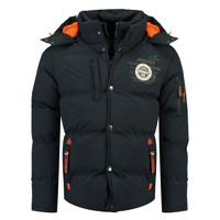 material Boy Duffel coats Geographical Norway VERVEINE BOY Marine