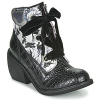 Shoes Women Mid boots Irregular Choice SCARPER Black