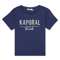 material Girl short-sleeved t-shirts Kaporal MAPIK Marine