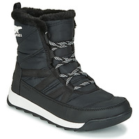 Shoes Women Mid boots Sorel WHITNEY II SHORT LACE Black