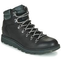 Shoes Men Mid boots Sorel MADSON HIKER II WP Black