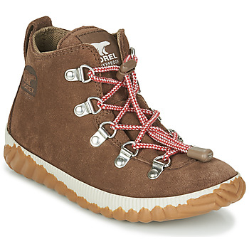 Shoes Children Mid boots Sorel YOUTH OUT N ABOUT CONQUEST Brown