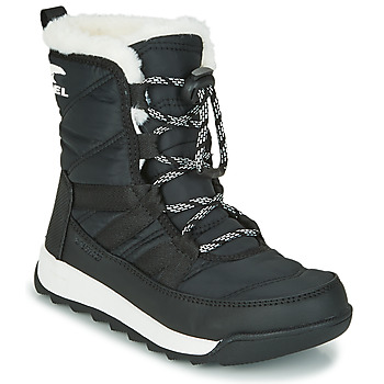 Shoes Children Mid boots Sorel YOUTH WHITNEY? II SHORT LACE Black