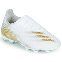 Shoes Children Football shoes adidas Performance X GHOSTED.3 FG J White