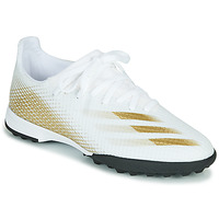Shoes Children Football shoes adidas Performance X GHOSTED.3 TF J White