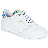 Shoes Women Low top trainers adidas Originals CONTINENTAL 80 W White / Blue