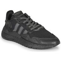 Shoes Men Low top trainers adidas Originals NITE JOGGER Black
