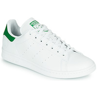 Shoes Low top trainers adidas Originals STAN SMITH VEGAN White / Green