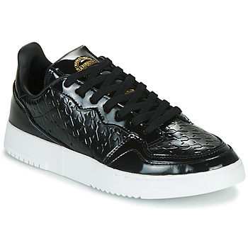 Shoes Women Low top trainers adidas Originals SUPERCOURT W Black / Varnish