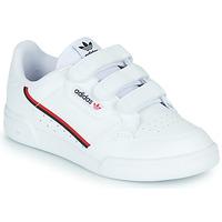Shoes Children Low top trainers adidas Originals CONTINENTAL 80 CF C White