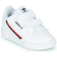 Shoes Children Low top trainers adidas Originals CONTINENTAL 80 CF I White
