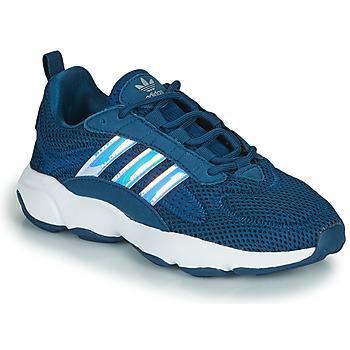 Shoes Boy Low top trainers adidas Originals HAIWEE J Blue
