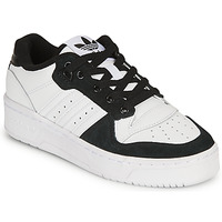 Shoes Children Low top trainers adidas Originals RIVALRY LOW J White / Black
