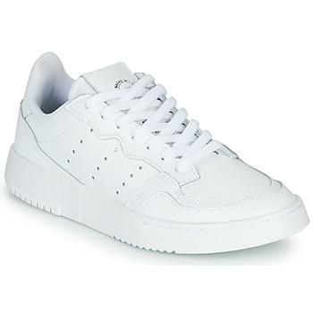 Shoes Children Low top trainers adidas Originals SUPERCOURT J White