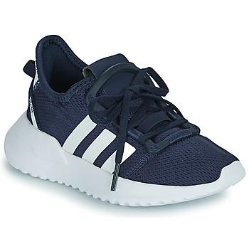 Shoes Boy Low top trainers adidas Originals U_PATH RUN C Marine / White