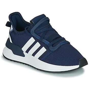 Shoes Boy Low top trainers adidas Originals U_PATH RUN J Marine / White