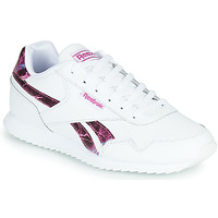 Shoes Girl Low top trainers Reebok Classic REEBOK ROYAL CLJOG White / Pink