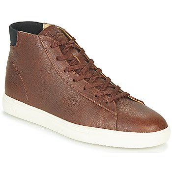 Shoes Men High top trainers Claé BRADLEY MID Brown
