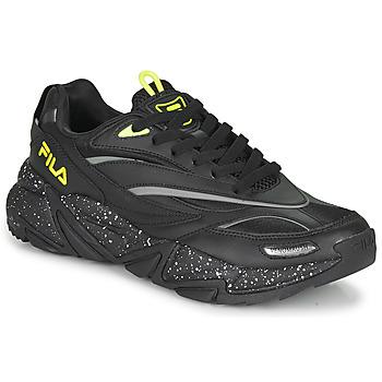 Shoes Men Low top trainers Fila RUSH CB Black