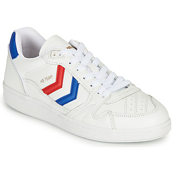 Shoes Low top trainers Hummel HB TEAM OGC White / Blue / Red