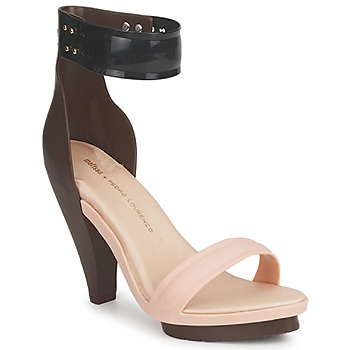 Shoes Women Sandals Melissa NO 1 PEDRO LOURENCO BEIGE / Brown
