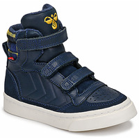 Shoes Children High top trainers Hummel STADIL CHECK Black