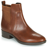 Shoes Women Mid boots Geox FELICITY Brown