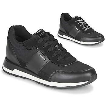 Shoes Women Low top trainers Geox NEW ANEKO B ABX Black