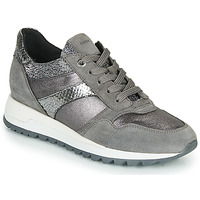 Shoes Women Low top trainers Geox TABELYA Grey