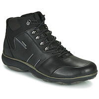 Shoes Men Mid boots Geox NEBULA 4 X 4 B ABX Black