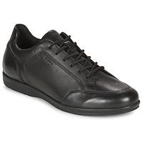 Shoes Men Derby shoes Geox ADRIEN Black