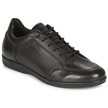 Shoes Men Derby shoes Geox ADRIEN Black