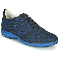 Shoes Men Low top trainers Geox NEBULA Blue