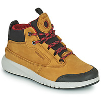 Shoes Boy Mid boots Geox AERANTER ABX Camel