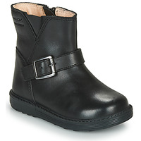 Shoes Girl Boots Geox HYNDE WPF Black
