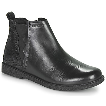 Shoes Girl Mid boots Geox SHAWNTEL Black