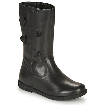 Shoes Girl Boots Geox SHAWNTEL Black