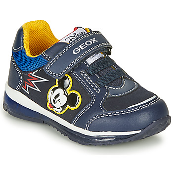 Shoes Boy Low top trainers Geox TODO MICKEY Marine