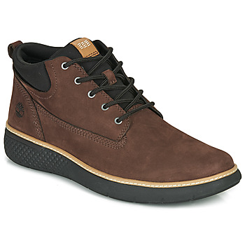 Shoes Men High top trainers Timberland CROSS MARK PT CHUKKA Brown