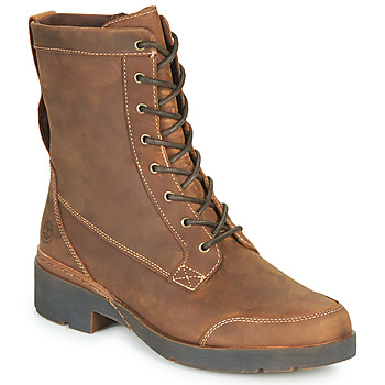 Shoes Women Mid boots Timberland GRACEYNMIDLACEUPWP Brown