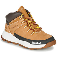 Shoes Children High top trainers Timberland BROOKLYN EURO SPRINT Wheat