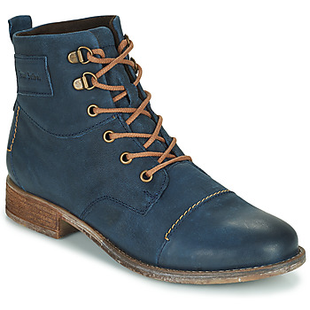 Shoes Women Mid boots Josef Seibel SIENNA 17 Marine