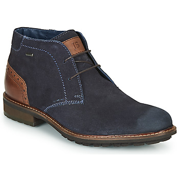 Shoes Men Mid boots Josef Seibel JASPER 51 Marine