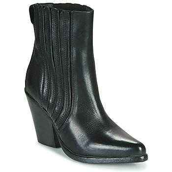 Shoes Women Ankle boots Moma CROSBY Black